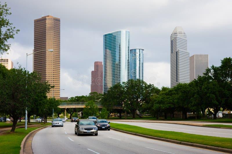 Houston céntrica Tejas fotos de archivo libres de regalías