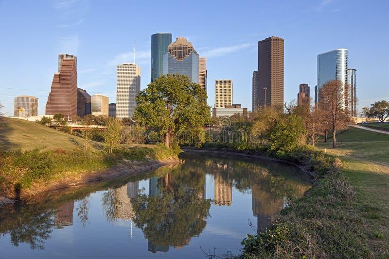 Houston céntrica, Tejas imagen de archivo libre de regalías