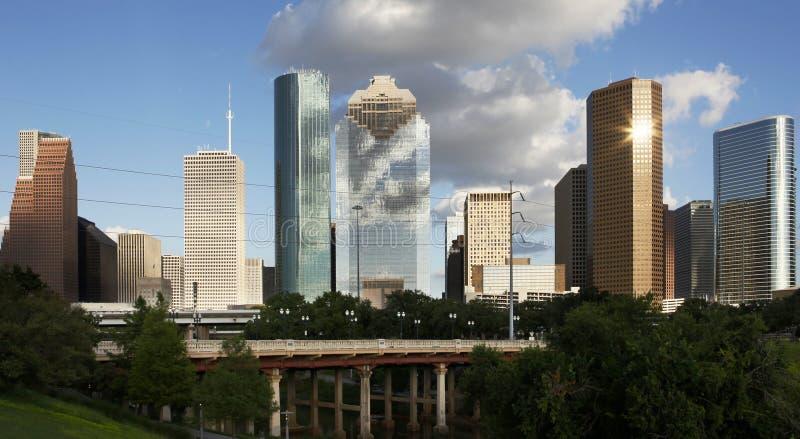 Houston céntrica vista del pantano fotos de archivo libres de regalías