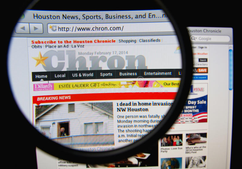 Download Houston Chronicle editorial photography. Image of news - 38874492