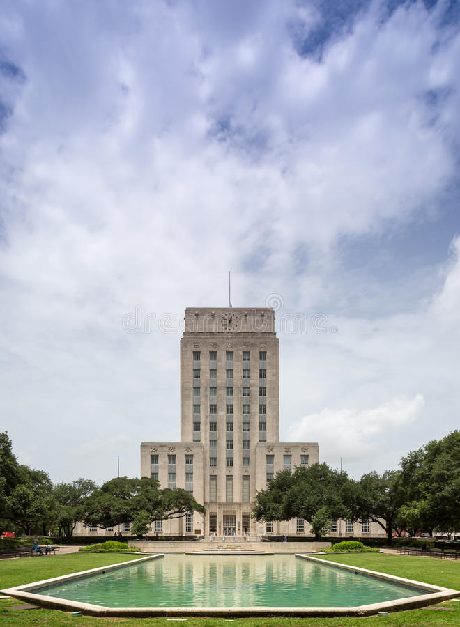 Houston City Hall image stock