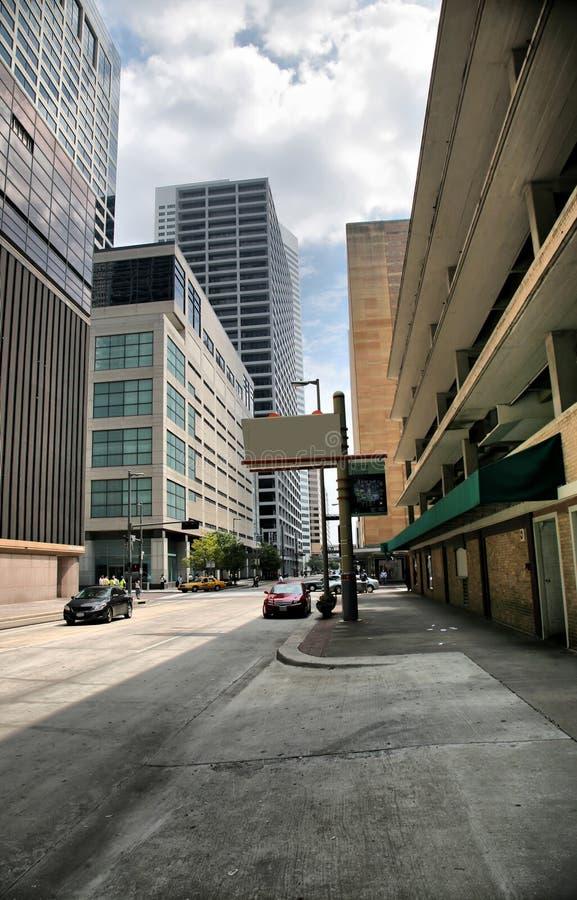 Download Houston City Street stock photo. Image of futuristic, financial - 8427230