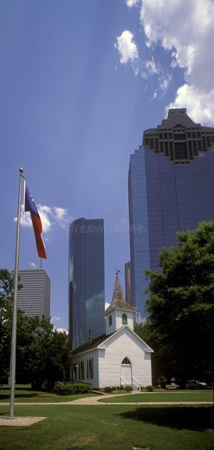 Houston da baixa imagens de stock royalty free