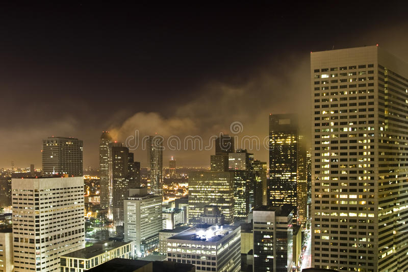 Houston de stad in stock afbeeldingen