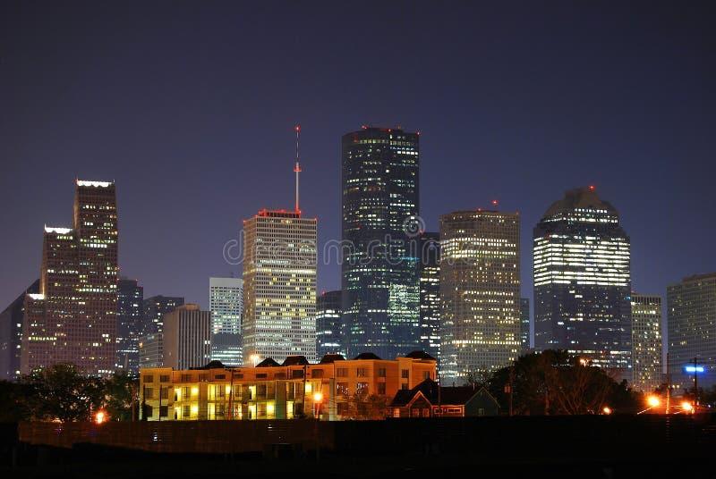 Houston do centro imagens de stock royalty free