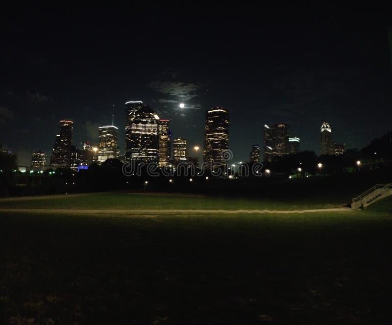 Houston, horizon de TX images libres de droits