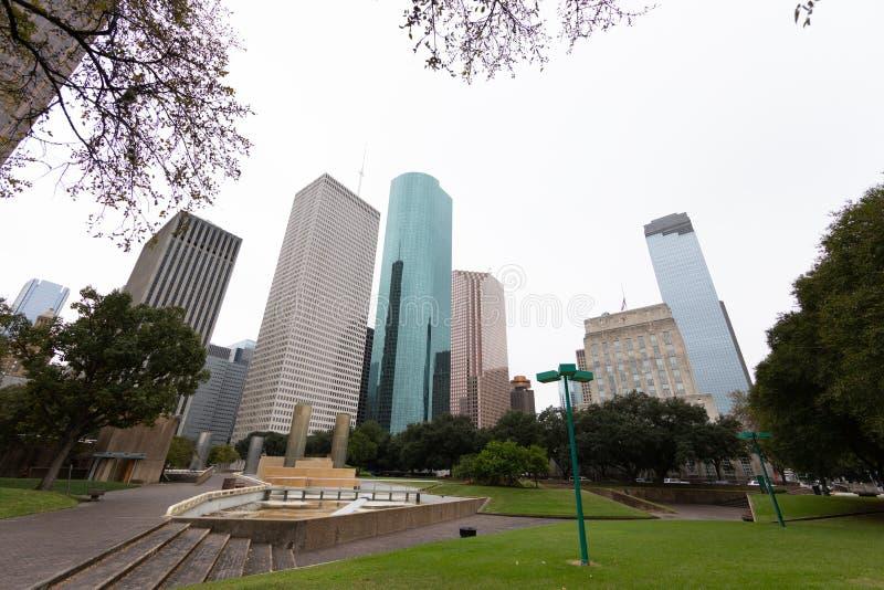 Houston Landscape photographie stock