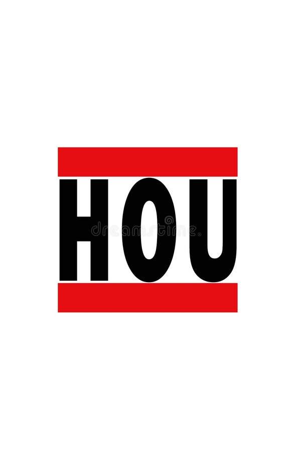 Houston, le Texas illustration de vecteur