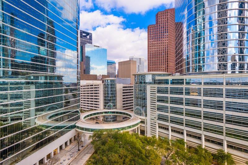 Houston, le Texas, paysage urbain des Etats-Unis image stock