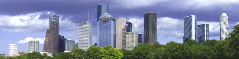 Houston-Nachmittag lizenzfreie stockbilder