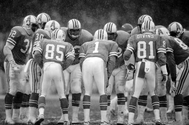 Houston Oilers fotografering för bildbyråer