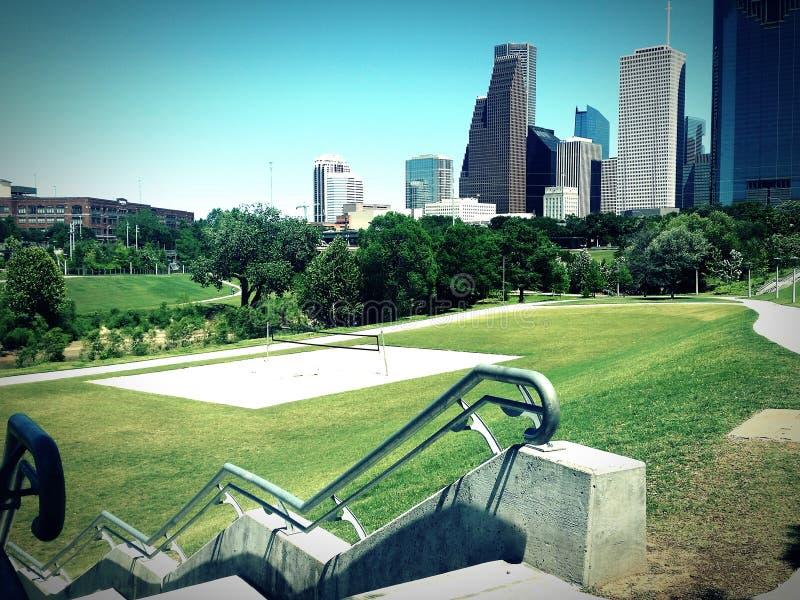 Houston Park stockbilder
