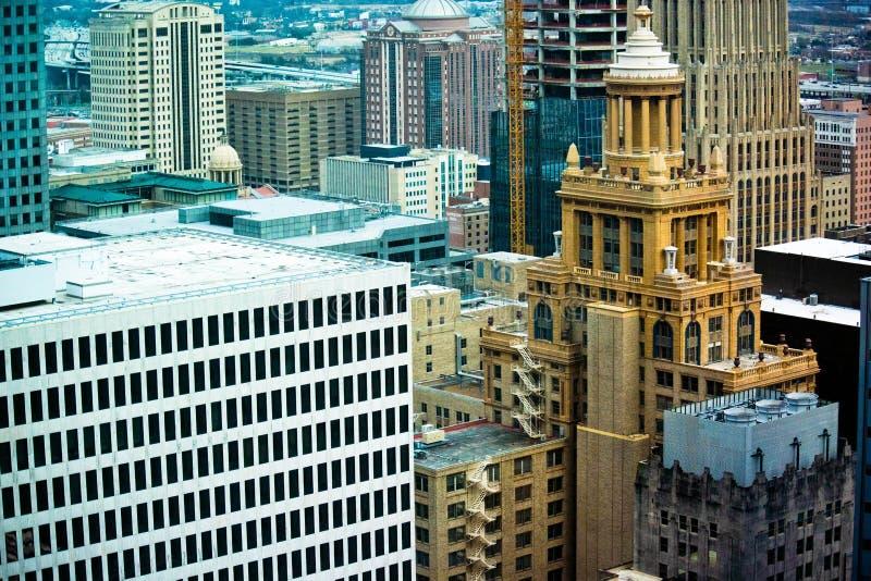 Houston pejzaż miejski obraz stock