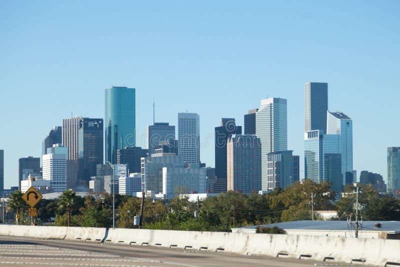 Houston pejza? miejski obrazy stock