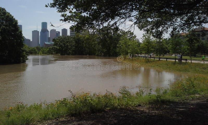 Houston powodzie fotografia royalty free