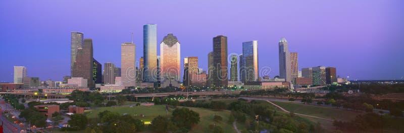 Houston-Skyline lizenzfreie stockfotos