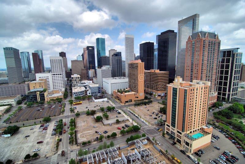 Houston Skyline fotos de stock