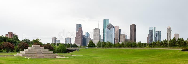Houston Skyline lizenzfreies stockbild