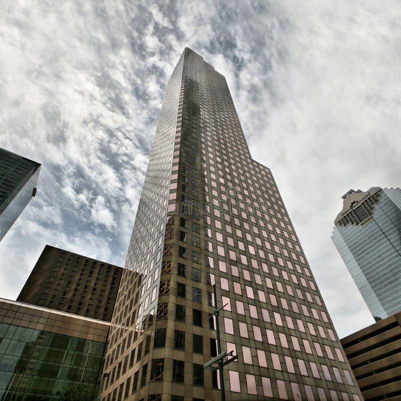 houston skyskrapa royaltyfri bild