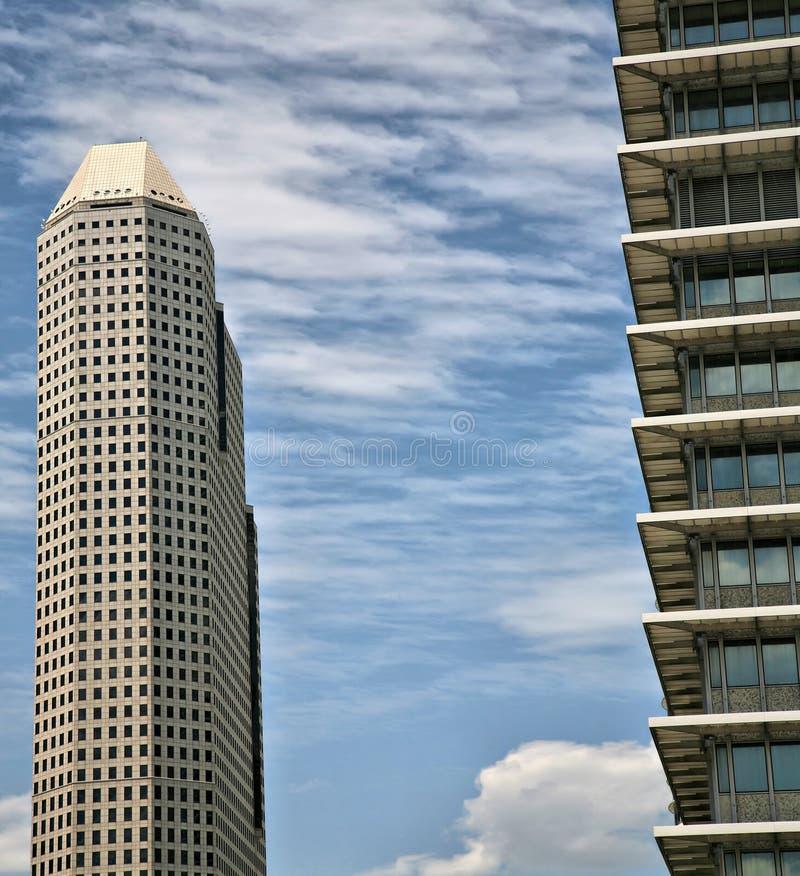 houston skyskrapor arkivbilder