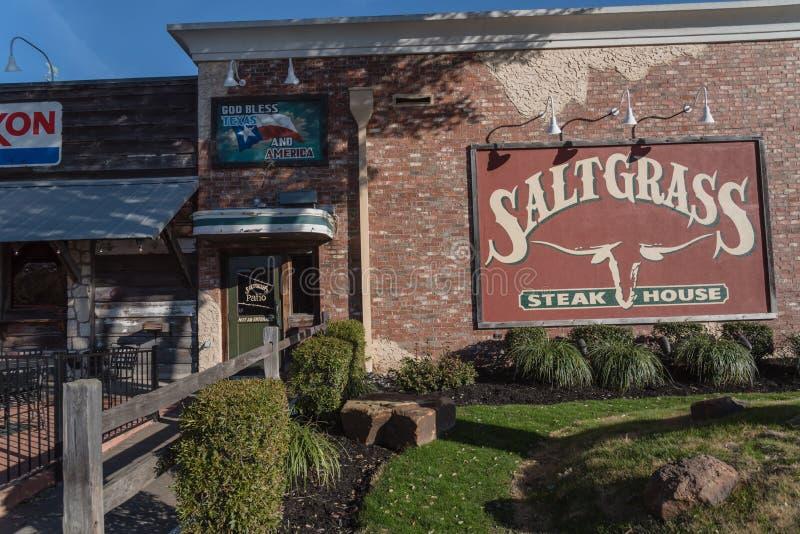 Houston, Tejas basó el asador de Saltgrass poseído por Landry's, imagen de archivo libre de regalías