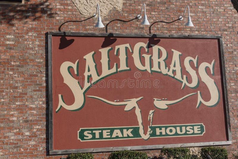 Houston, Tejas basó el asador de Saltgrass poseído por Landry's, imágenes de archivo libres de regalías