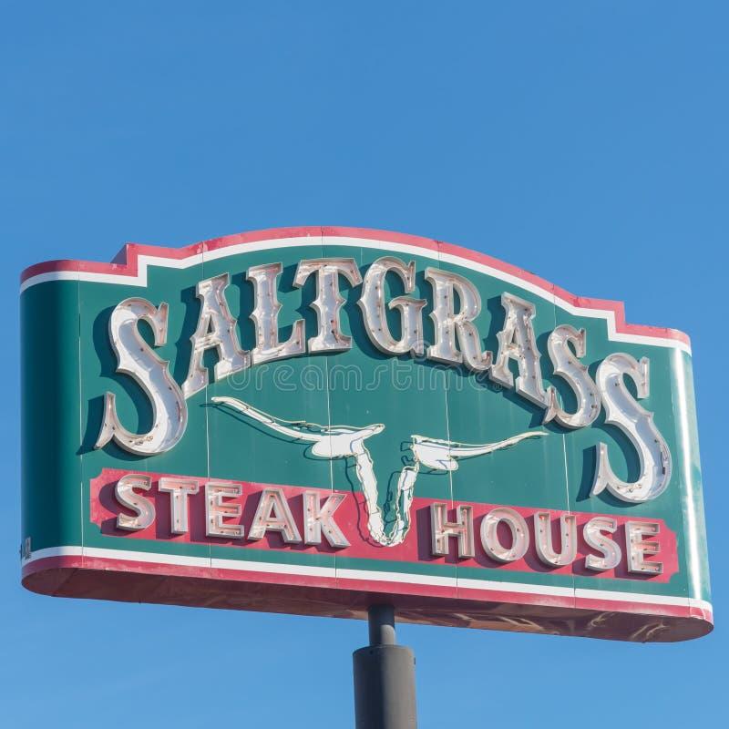Houston, Tejas basó el asador de Saltgrass poseído por Landry's, fotos de archivo