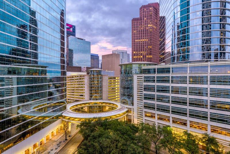 Houston, Teksas, usa pejzaż miejski fotografia stock