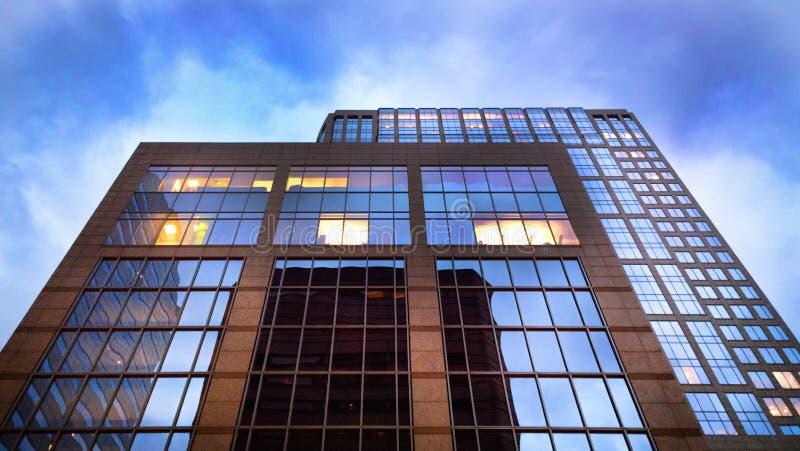 Houston Texas Architecture royaltyfria foton