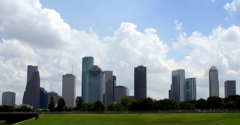 Houston Texas Skyline royalty free stock images