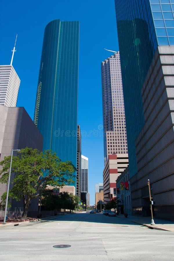 Houston van de binnenstad royalty-vrije stock foto's