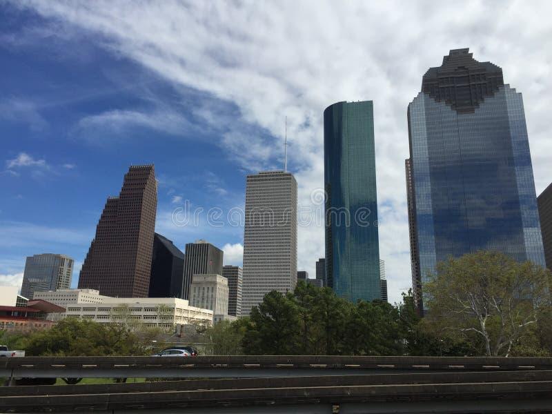 Houston van de binnenstad royalty-vrije stock afbeelding