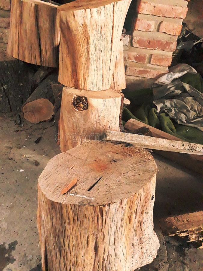 Hout Olds stock afbeelding