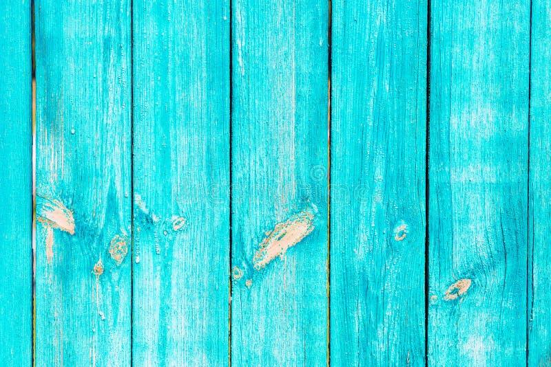 Houten abstracte achtergrond, textuur van blauwe kleur met natuurlijke patronen voor het werk van de ontwerpkunst, blauwe kleur stock afbeelding
