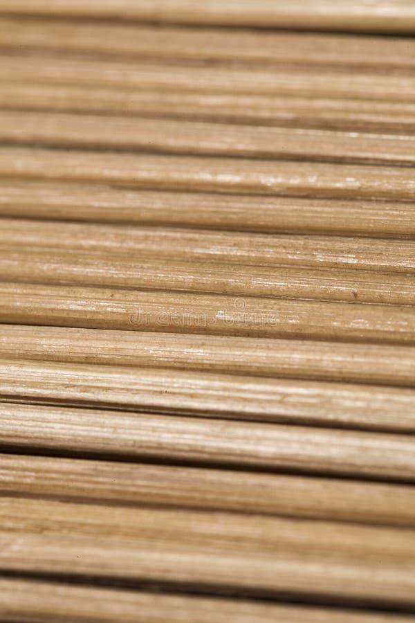 Houten achtergrond, bamboestelen stock fotografie