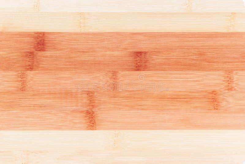 Houten achtergrond Gestreept patroon van bamboeraad royalty-vrije stock foto