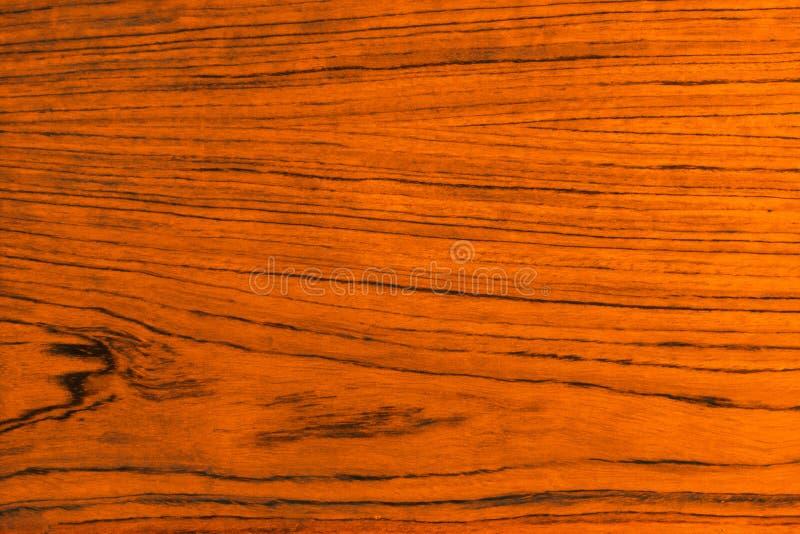 Houten achtergrond, oranje en bruine kleur stock fotografie
