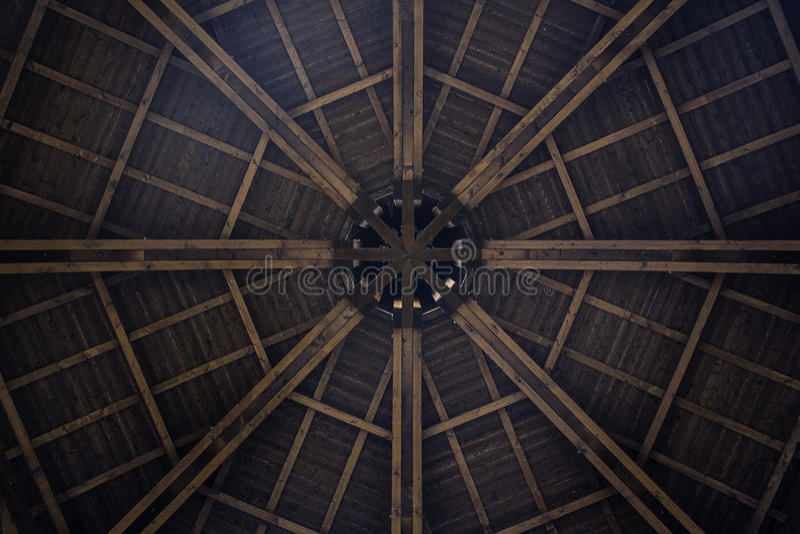 Houten Architectuur stock afbeelding