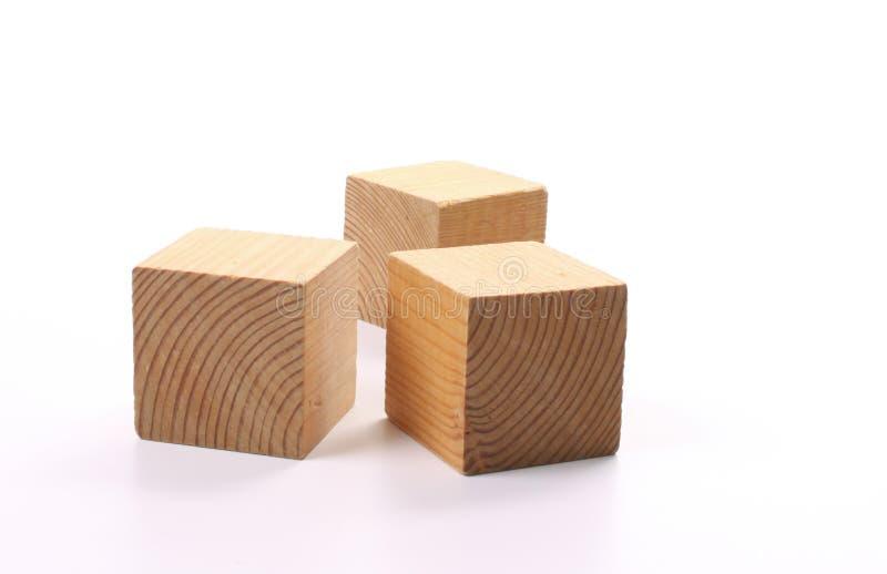 Houten blokken stock afbeeldingen