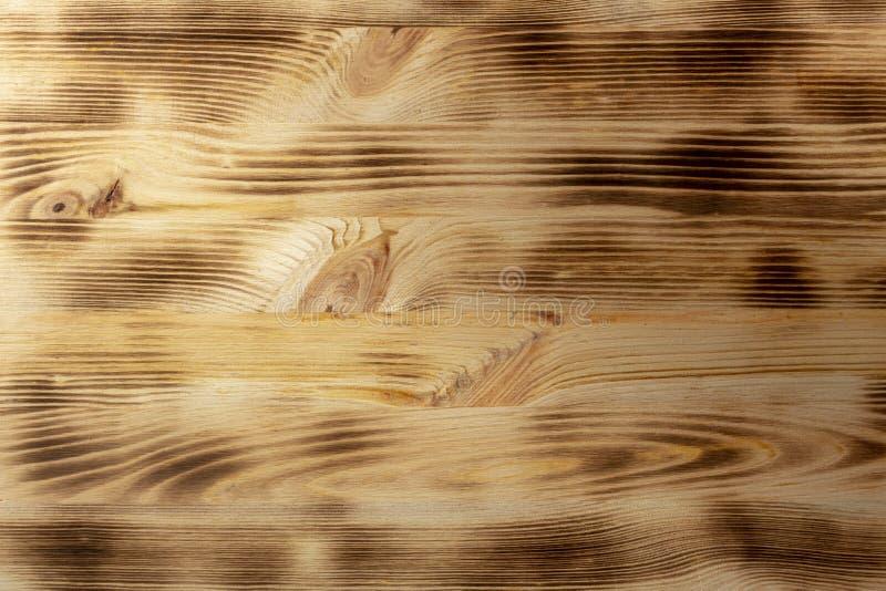 Houten bruine korreltextuur, hoogste mening van de houten achtergrond van de lijst houten muur stock foto
