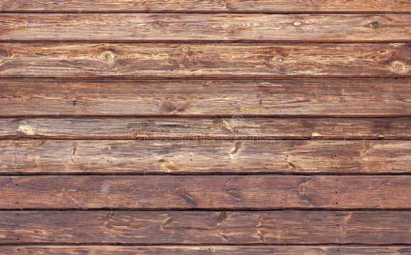 Houten bruine korreltextuur, hoogste mening van de houten achtergrond van de lijst houten muur royalty-vrije stock afbeelding