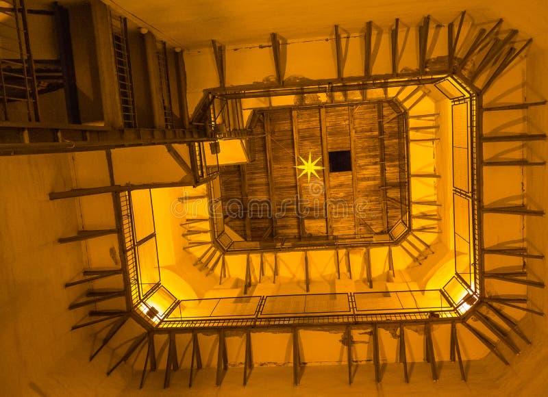 Houten dak van St Sophia Cathedral royalty-vrije stock foto's