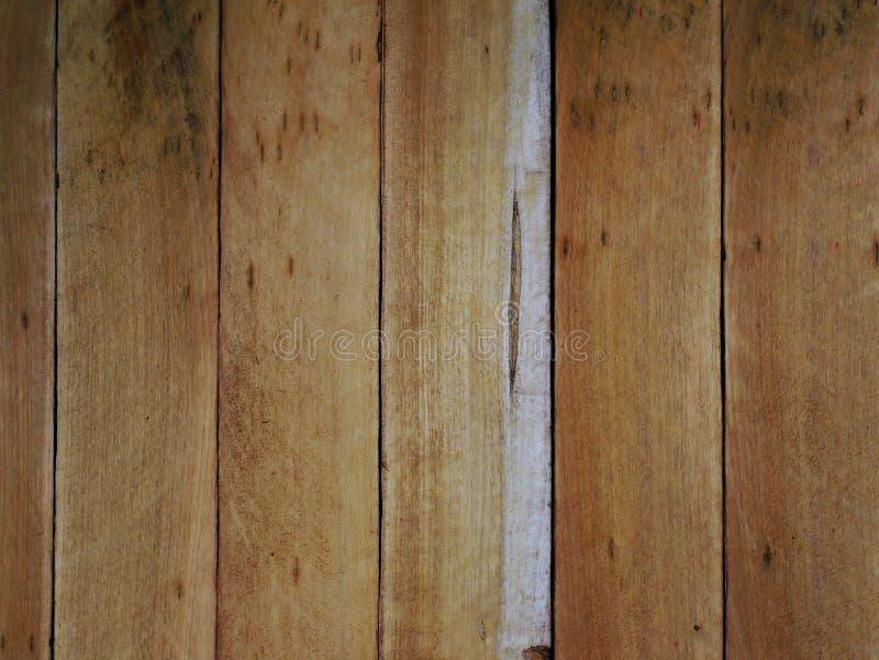 Houten de korrelachtergrond van de textuurplank, houten bureaulijst of vloer stock afbeelding
