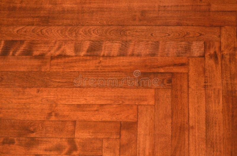 Houten de textuurachtergrond van de vloerplank stock afbeelding