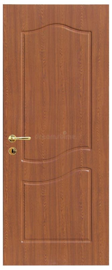 Houten deur royalty-vrije stock fotografie