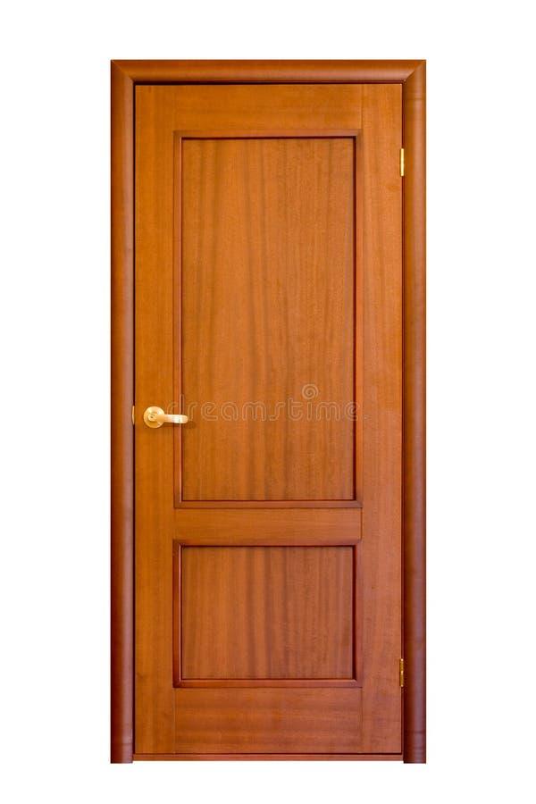Houten deur #5 royalty-vrije stock afbeeldingen