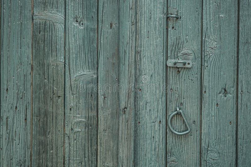 Houten deur als achtergrond royalty-vrije stock foto