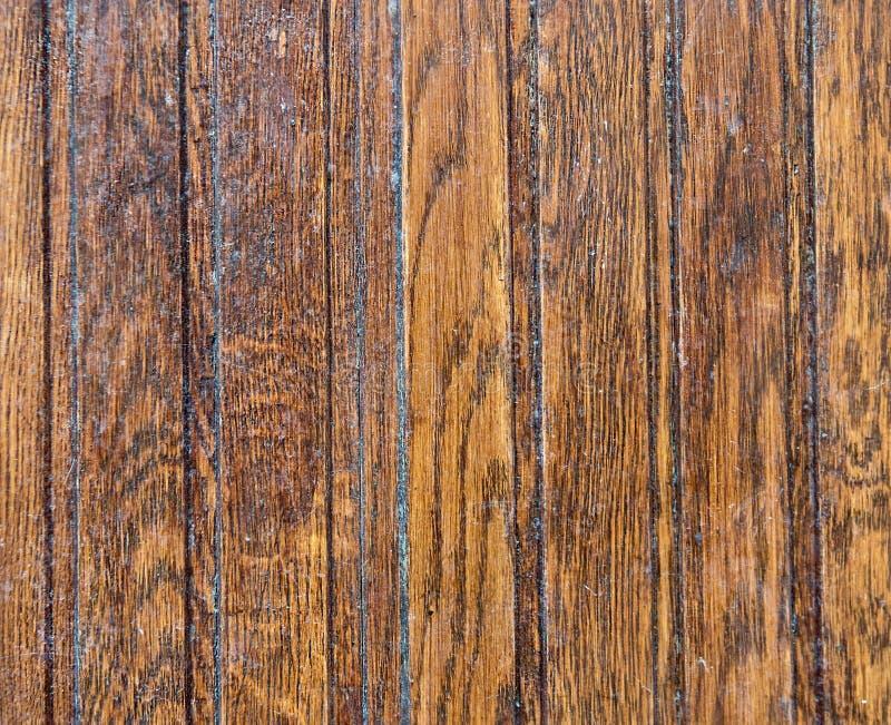 Houten deuroppervlakte van donker hout royalty-vrije stock fotografie