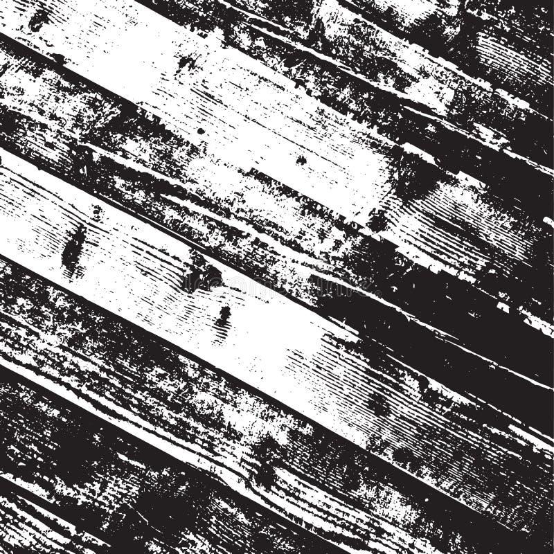Houten diagonale planken vector illustratie