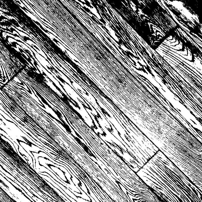 Houten diagonale planken royalty-vrije illustratie